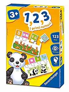 Ravensburger Italia-1,2,3Los Primeros números Juego Educativo, 24104