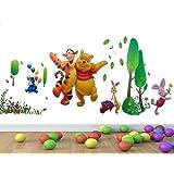 Wall Stickers Warehouse 781 - Adhesivo para pared con diseño de Winnie The Pooh (60 x 90 cm), multicolor