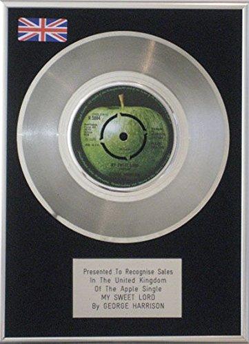 George Harrison 17.78 cm, Platinum Disc My Sweet Herr für Apple