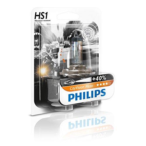 Philips 12636CTVBW City Vision - Bombilla HS1 para faros del.