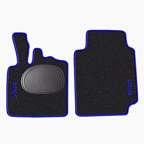 tappetini-per-smart-fortwo-w450-anni-1998-2007-battitacco-in-gomma-standard-moquette-nero-bordo-blu-