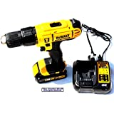 DEWALT 18V LITHIUM COMBI DRILL, BATTERY & CHARGER DCD776, DCB185, DCB107