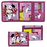 GUIZMAX Porte Monnaie Minnie Mouse Porte Feuille Disney Enfant