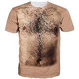 Produp Fashion Tops Unisex Holiday Shirt Rude Stag Partykleid 3D Offensive Brüste Gedruckt T...