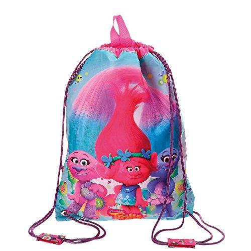 Imagen de trolls  infantil, 40 cm, 0.6 litros, multicolor