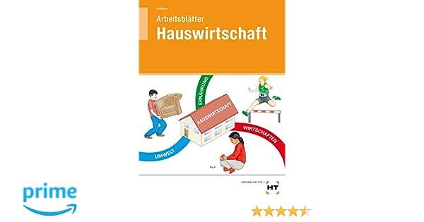 Arbeitsblätter Hauswirtschaft: Amazon.de: Cornelia A. Schlieper: Bücher