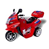 Kinder Elektroauto Motorrad C051 Elektro Motorrad Kinderfahrzeug (rot)