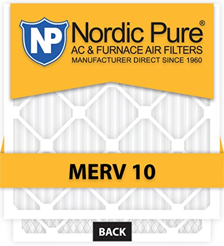 Ofen-filter 20x16x1 (Nordic Pure 12 x 16 x 1customm10–12 Merv 10 AC Ofen Filter, 12 Stück)