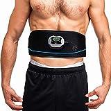 VEOFIT EMSBauchmuskelgürtel zur Elektrischen Muskelstimulation: festigt, stärkt und strafft die Bauchmuskeln und flacht den Bauch ab/passende Einheitsgröße für alle/Männer & Frauen
