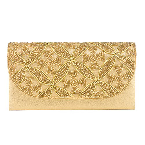 Farfalla 90342, Pochette donna Oro (oro)