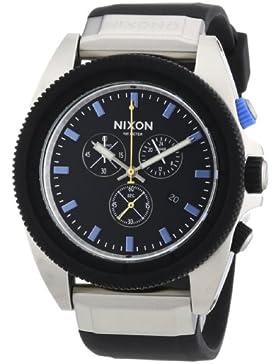 Nixon Herren-Armbanduhr XL Chronograph Quarz Silikon A2901529-00