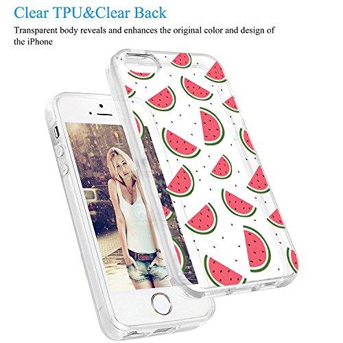 iPhone 5 Custodia Marmo TPU Gel Silicone Protettivo Skin Custodia Protettiva Shell Case Cover Per Apple iPhone 5s (6) 2