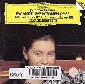 Brahms:Paganini Variations