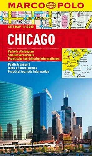 Preisvergleich Produktbild MARCO POLO Cityplan Chicago 1:15 000 (MARCO POLO Citypläne)