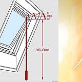Velux Stange für Velux Fensterrollos / Dachfenster-Jalousie, ausziehbar