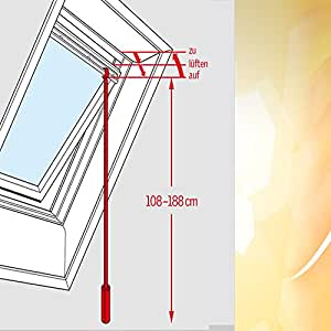 velux zct 200 barre t lescopique pour ouverture. Black Bedroom Furniture Sets. Home Design Ideas
