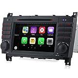 A-Sure 2 Din DVD Player GPS Sat Nav Bluetooth VMCD RDS DAB+ Für Mercedes Benz C Class CLK 3 W209 AMG