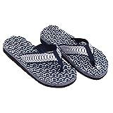 JAGETRADE estate morbido casual uomo piatto perizoma sandali infradito  pantofole spiaggia BROWN44 Blue44 8f613cd39b4