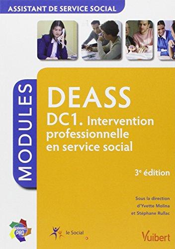 Formation DEASS - Assistant de service social - DC1 Intervention professionnelle en service social - Itinéraires Pro - Modules