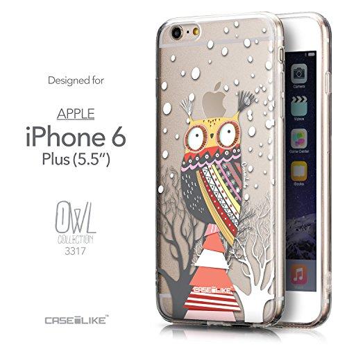 CASEiLIKE Art Mandala 2093 Housse Étui UltraSlim Bumper et Back for Apple iPhone 6 / 6S Plus (5.5 inch) +Protecteur d'écran+Stylets rétractables (couleur aléatoire) 3317