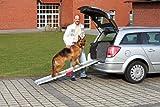 KARLIE Autorampe HUNDERAMPE Aluminium 183 x 36cm für Hunde