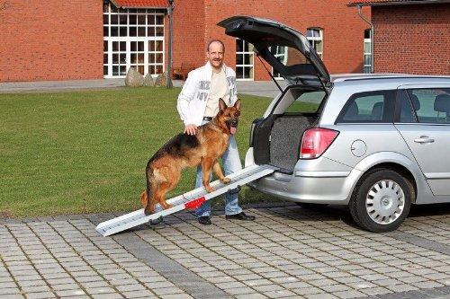 Artikelbild: KARLIE Autorampe HUNDERAMPE Aluminium 183 x 36cm für Hunde