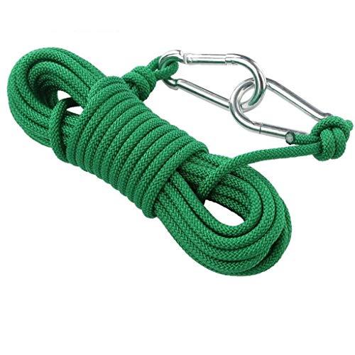 Bündelseil, Versicherung Sicherheit Seil Tauwerk Durchmesser 6mm Polyester Seil Outdoor Kleidung Trocknen Kordelzug 5/10 / 15m (Size : 10m)