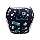 Wanna Party Swim Diaper Cool Unisex Pattern