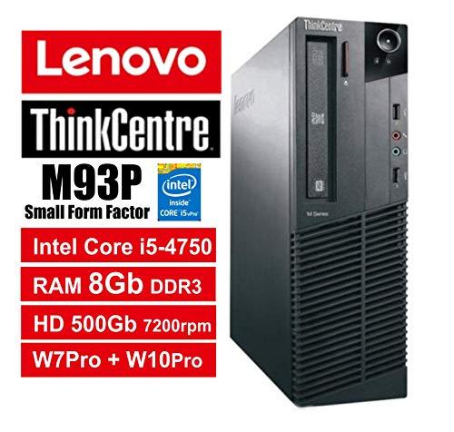 PC Lenovo ThinkCentre M93p SFF-Core i5-4570, GB De RAM, HDD 500GB...