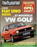 AUTO JOURNAL (L') [No 2] du 01/02/1984 - SOMMAIRE - ESSAIS - LA VOLKSWAGEN GOLF GL 75 CH - LA FIAT UNO S DIESEL - J'AI CONDUIT - LA NISSAN CHERRY TURBO - LA RENAULT 18 BREAK 4X4 - MATCH - LA RENAULT 11 TXE FACE A LA VOLKSWAGEN GOLF GL 75 CH - PROTOTYPES - LA NOUVELLE OPEL KADETT - SALON - BRUXELLES - VARIETES - LOWMLET BAVEUZ - DOCUMENTS - LES VOITURES DE SOCIETE - RUBRIQUES LA TRIBUNE DES LECTEURS - LE DROIT ET L'AUTO - AJ INFORMATIONS - PHOTO-CINE-SON - LE PRIX DES VOITURES NEUVES - LA COTE D