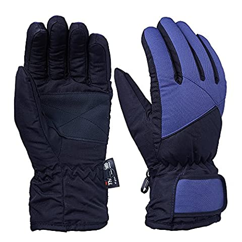 OZERO Winter Gloves, Cold Proof Winter Thermal Ski Gloves for