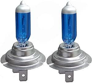 2 Stücke H7 100 Watt Hohe Qualität Halogenlampe Auto Auto Scheinwerfer Xenon H7 100 Watt Ultra Weißes Licht Fahrzeug Scheinwerfer Ersatz Color Blue Küche Haushalt