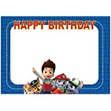 Party Propz Paw Patrol Theme Photobooth Frame 2Ft For Birthday Supplies For Boys