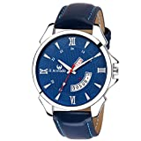 #8: ARMADO AR-302-BLU DAY AND DATE WATCH-FOR MEN