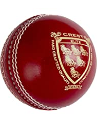 GRAY-NICOLLS–Escudo Elite Cricket Deportes Grado 1balón cosido a máquina rojo, rojo