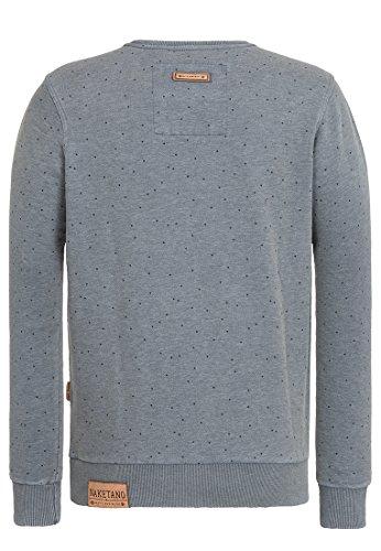 Naketano Male Sweatshirt Cevapcici Günther III Heritage Dark Ash Melange