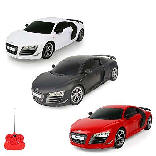 AUDI R8 GT - RC ferngesteuertes Lizenz-Fahrzeug im Original-Design, Modell-Maßstab 1:24, Ready-to-Drive, Auto inkl. Fernsteuerung