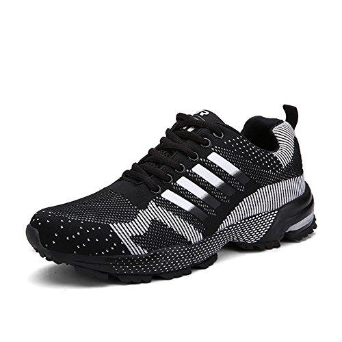 759f52644 Senbore Zapatillas de Deporte Respirable Para Correr Deportes Zapatos  Running Hombre