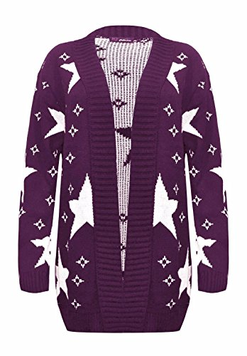Comfiestyle - Gilet - Femme Violet