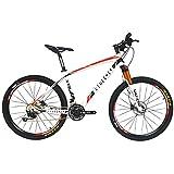 BEIOU® Carbon Fiber Mountain Bike Hardtail MTB SHIMANO...
