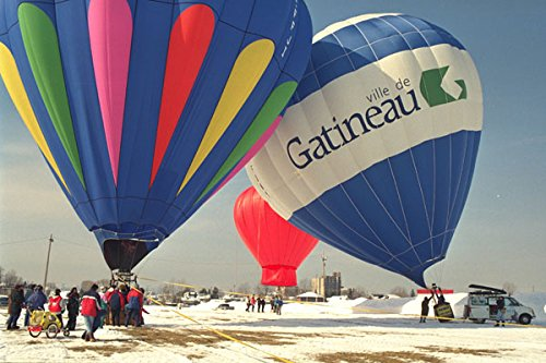 528001 Balloons Filling In Gatineau A4 Photo Poster Print 10x8