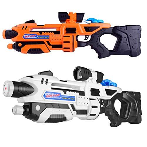 XLong-toy Große Wasserpistole Super Soaker Wasser Blaster Kinder Spielzeug Wasser Pistole Erwachsene Party Strand Außenpool Favor Spielzeug Packung von 2