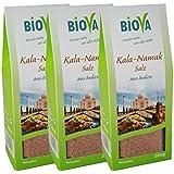 Kala-Namak Salz aus Indien Feinstreu 3x 200 g von Biova
