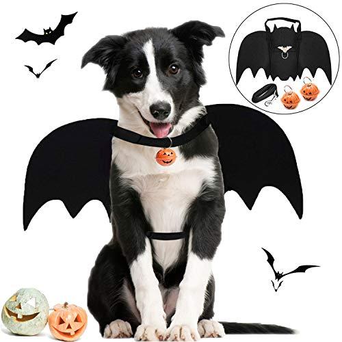 Legendog Halloween Hund Kostüm, Halloween-Haustier-Kostüm-kreatives Hundeschläger-Kostüm-Hundepartei-Kostüm mit Leine