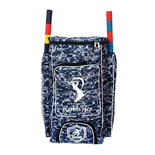 Duroplay PlayersPack Cricket Kit Backpack Camo Blue