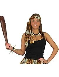 Cave-girl Cyber Tutu Set Leopard Print Croods Fancy Dress & Accessories