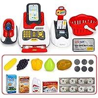 Kleinkindspielzeug Kasse bunt Holz Kaufladen Kinder Scanner Spielkasse Kinderkasse  Neu Geräte