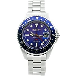 Nautec No Limit Gents Watch Deep Sea Ds Gmt/Stbl
