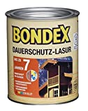 Bondex Dauerschutz-Lasur Ebenholz 0,75 l - 329933