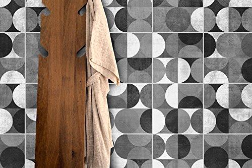 Adesivi per piastrelle confezioni con 32 piastrelle 15 x 15 cm